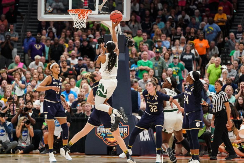 Baylor holds off Notre Dame to capture third women's ...