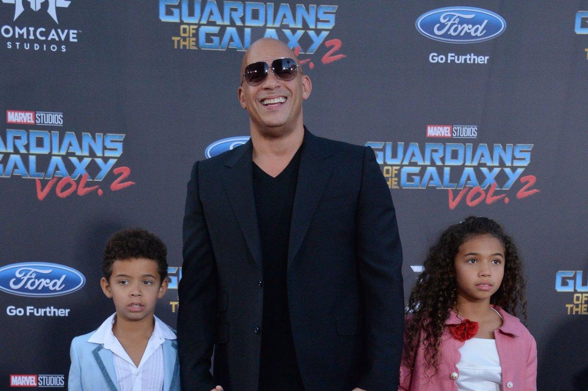Vin Diesel, Sylvester Stallone bring kids to 'Guardians of ...