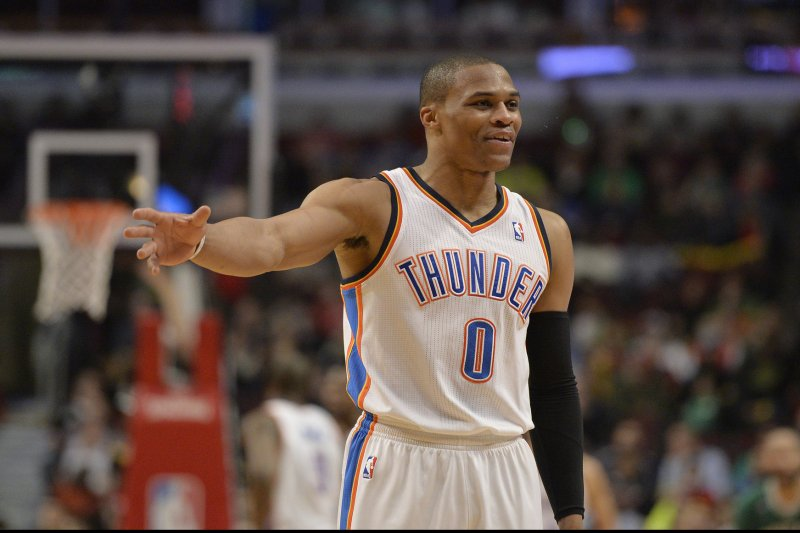 Russell Westbrook s 14th triple-double lifts Oklahoma City Thunder past  Boston Celtics (4.20 5) 49959186a