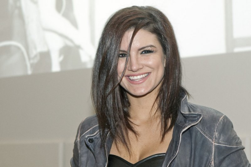 Gina Carano spotted wi...