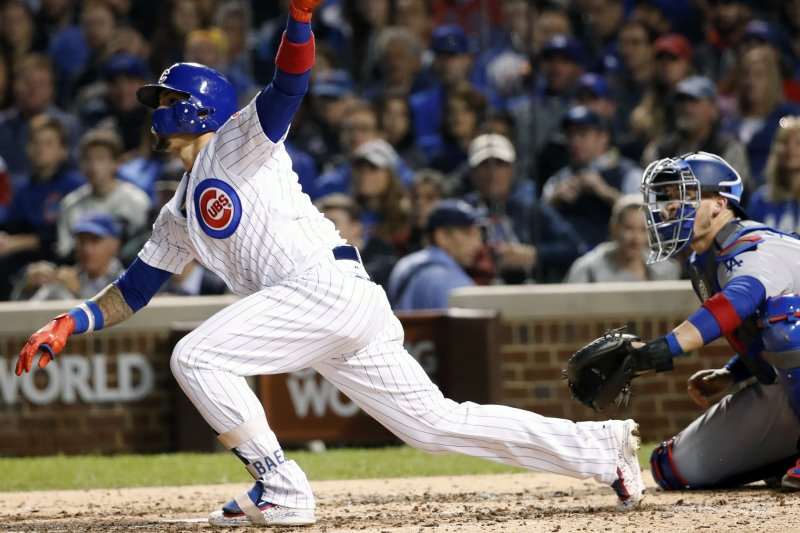 a3a01d346 espn.com Javier Baez bashes two homers as Chicago Cubs stay alive