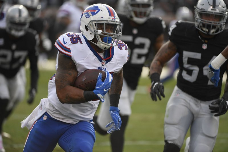0a30bf21 RB Mike Gillislee signs with New England Patriots after Buffalo Bills  decline to match offer