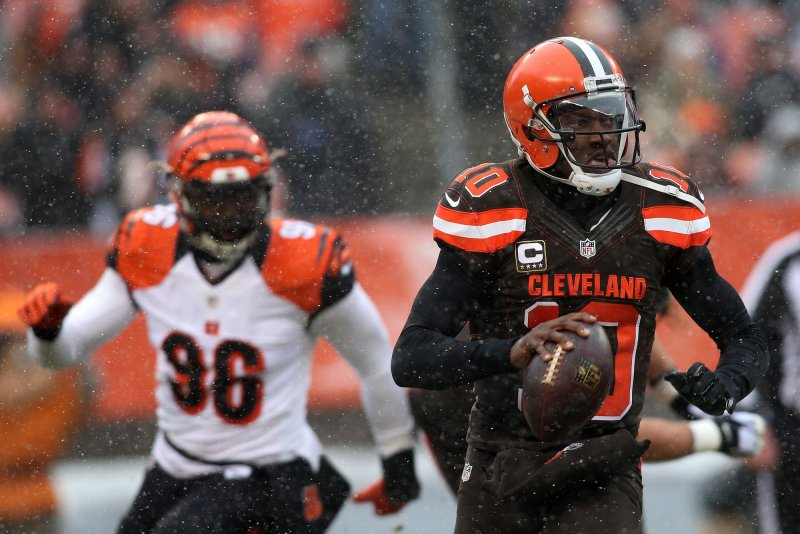 de8b790ec Quarterback Robert Griffin III cleared concussion protocol and is available  to the Cleveland Browns in the season finale Sunday against the Pittsburgh  ...