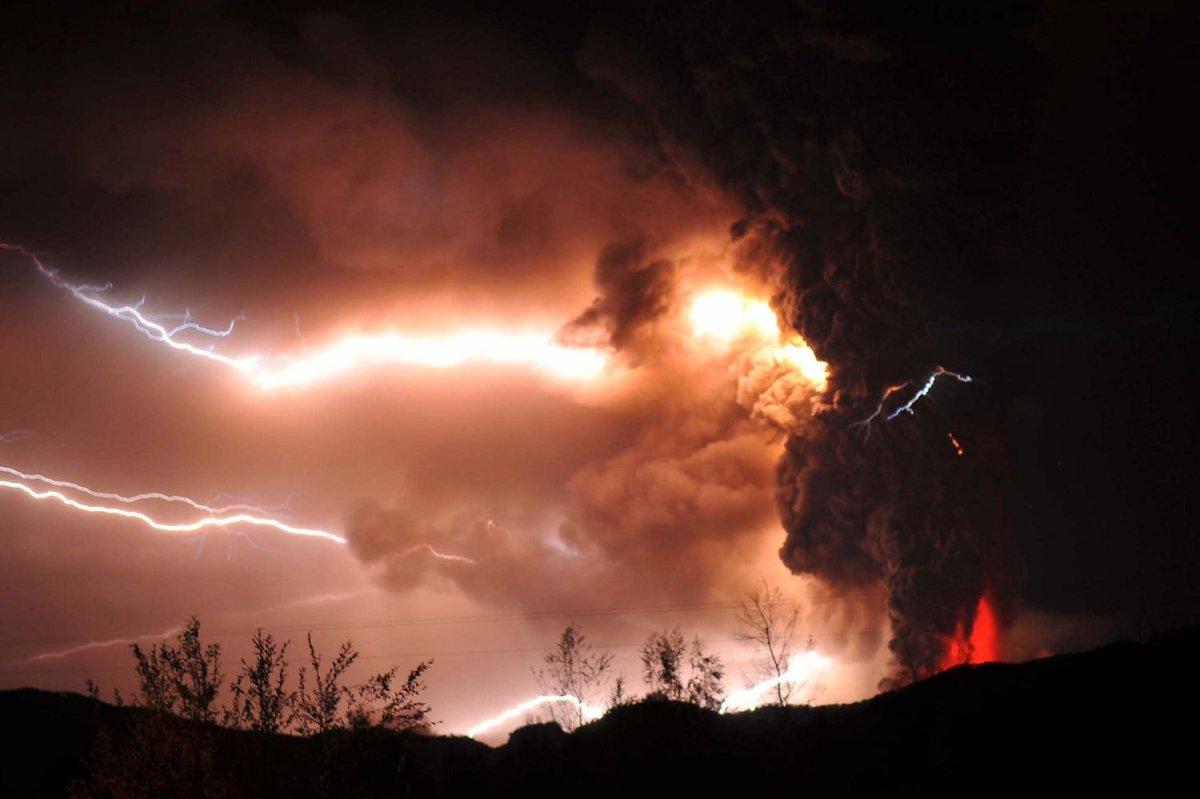 Dormant volcano comes to life in Chile - UPI com