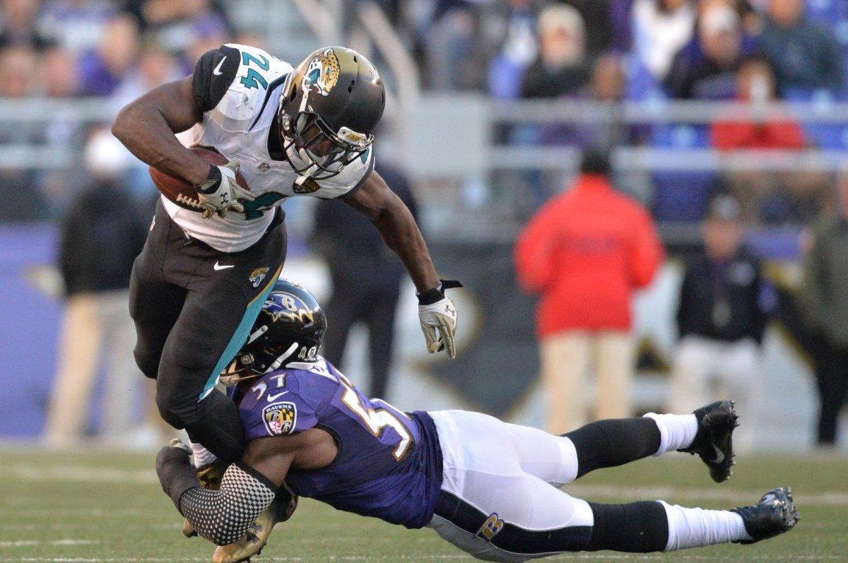 NFL Jersey's Men's Jacksonville Jaguars T.J. Yeldon Pro Line Big & Tall Team Color Jersey