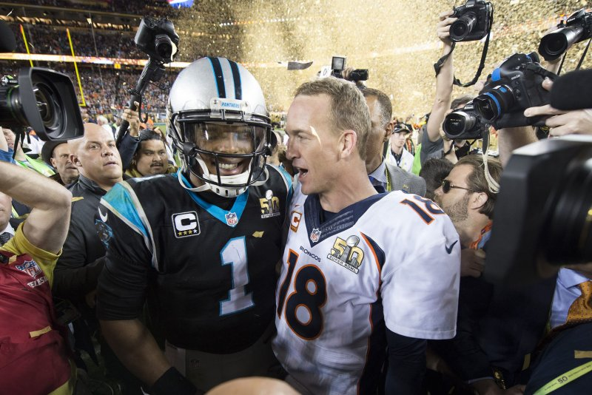 Super Bowl Cam Newton Goes Dim Postgame Upi Com
