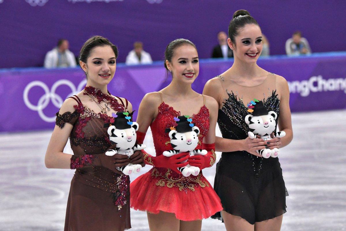 Russian skater Evgenia Medvedeva leads in season opener - UPI.com b367970986a