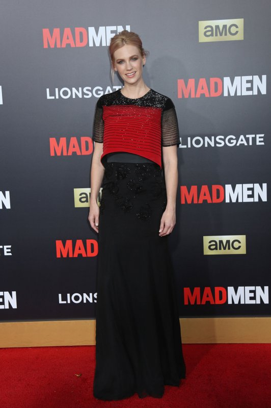 January Jones goes topless for Violet Grey - UPI.com