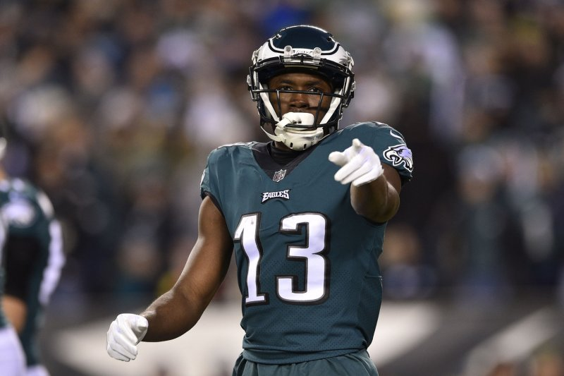 Philadelphia Eagles pick up fifth-year option on WR Nelson Agholor