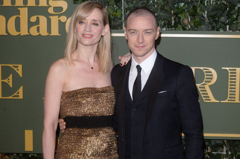James Mcavoy 2014 Wife James McAvoy an...