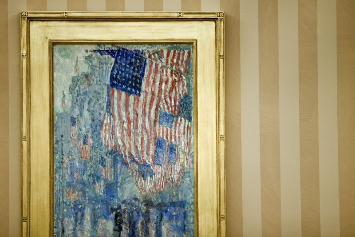 oval office paintings. Oval Office Paintings :