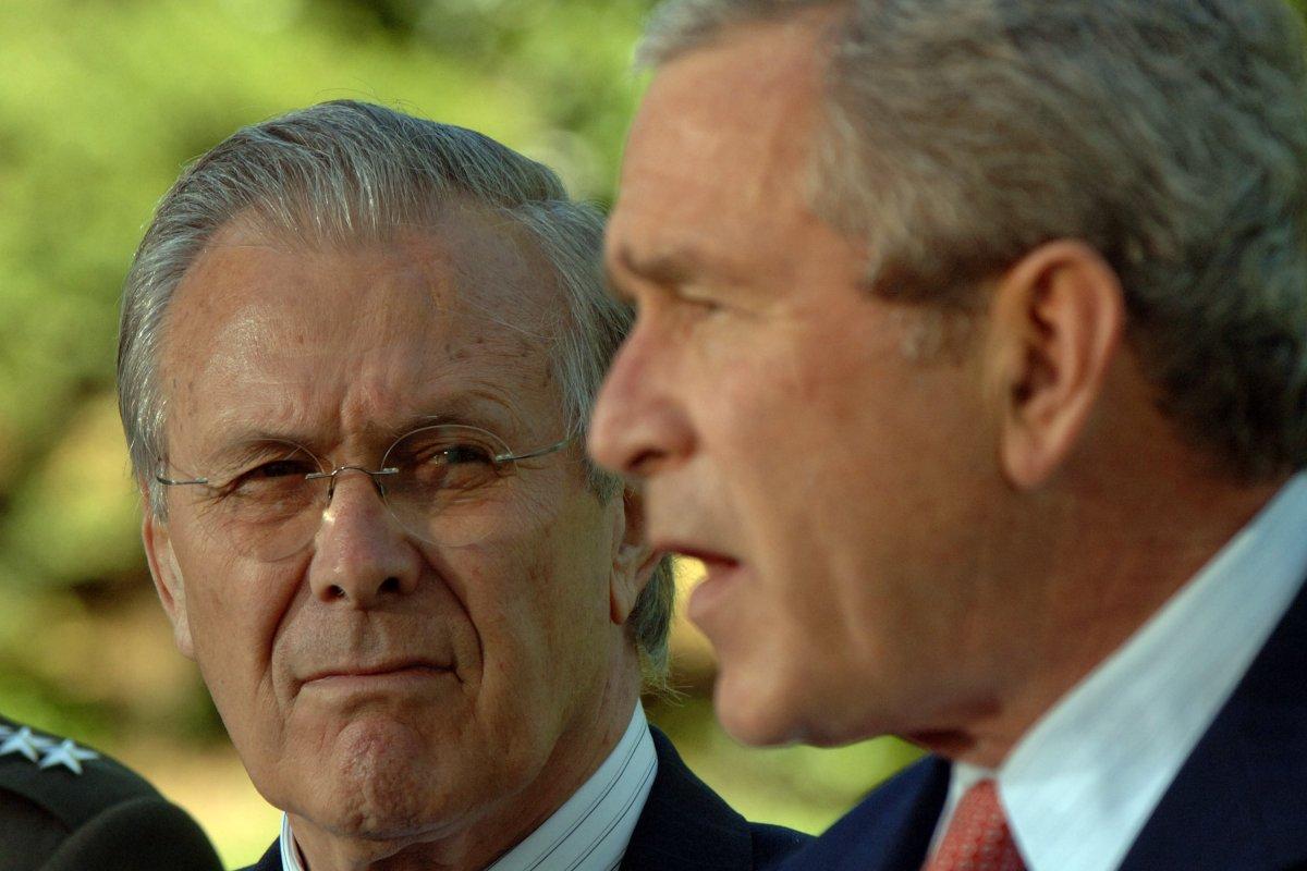 Bush 41 Slams Bush 43 S Aides Including Cheney And
