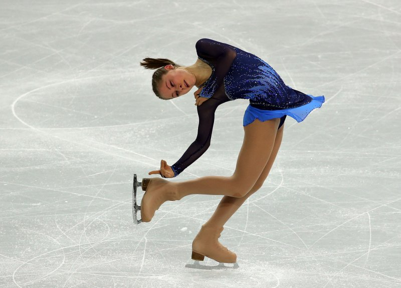 Russians close in on gold in inaugural Olympic team figure ...