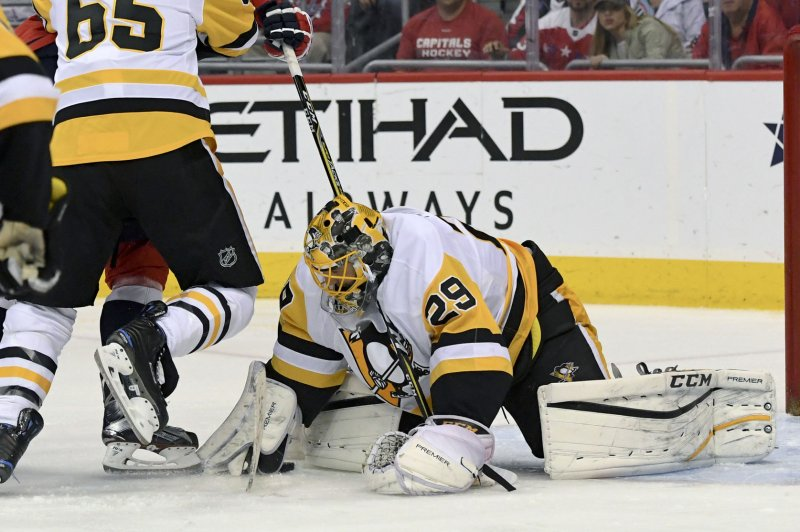 Pittsburgh Penguins goalie Marc-Andre Fleury waives no ...