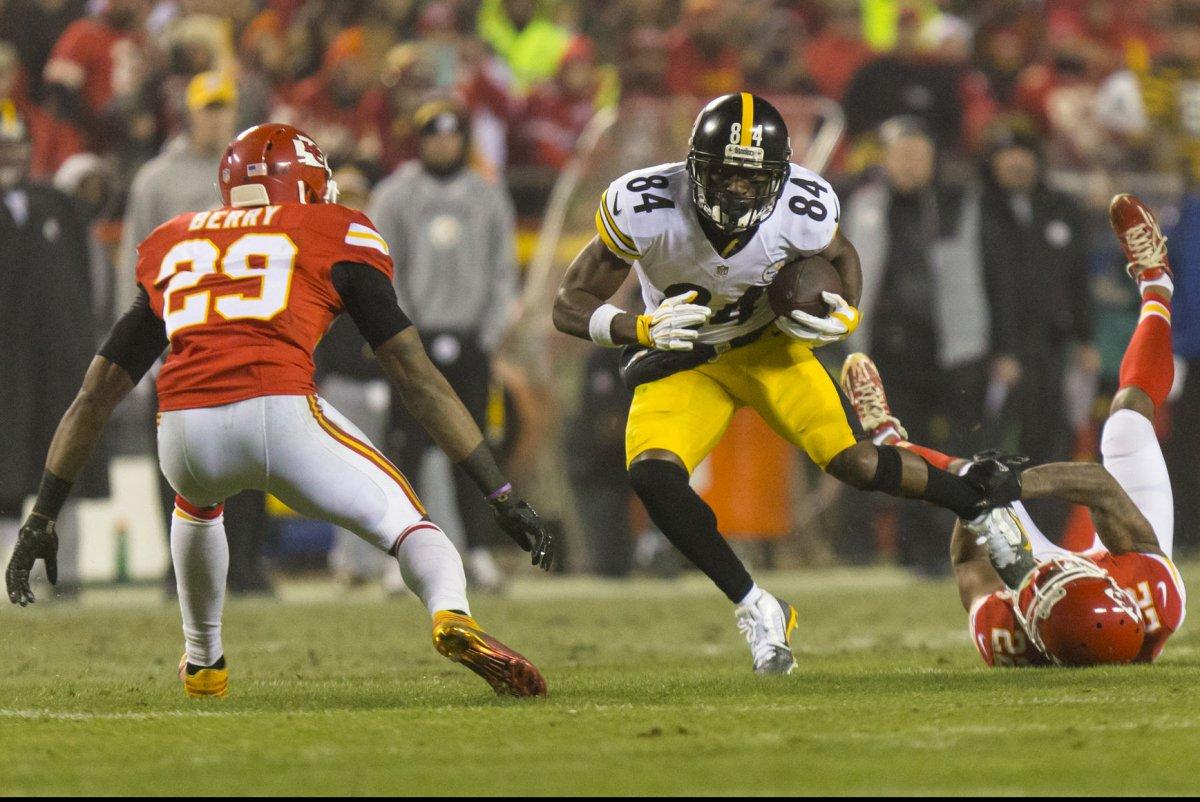 Ravens Locker Room After Steelers Win