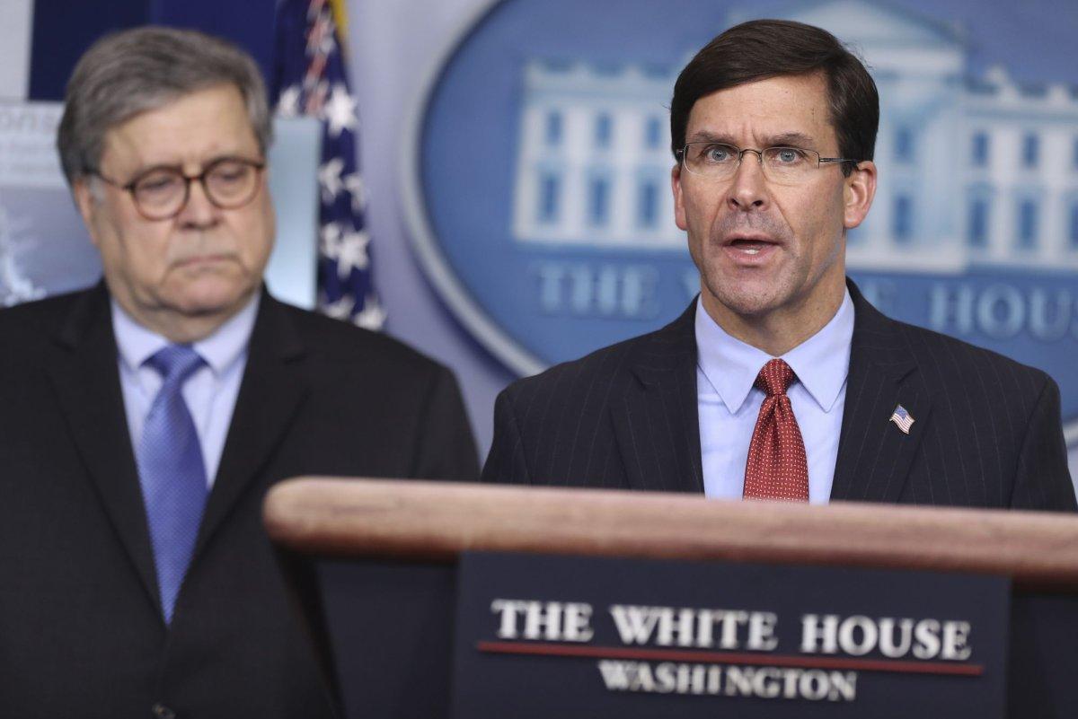 U.S. announces new military counternarcotics operation near Venezuela