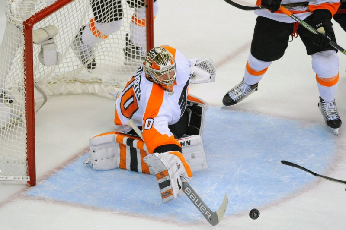 65e18235d3f WATCH: Philadelphia Flyers G Michal Neuvirth awake, alert after collapsing  on ice
