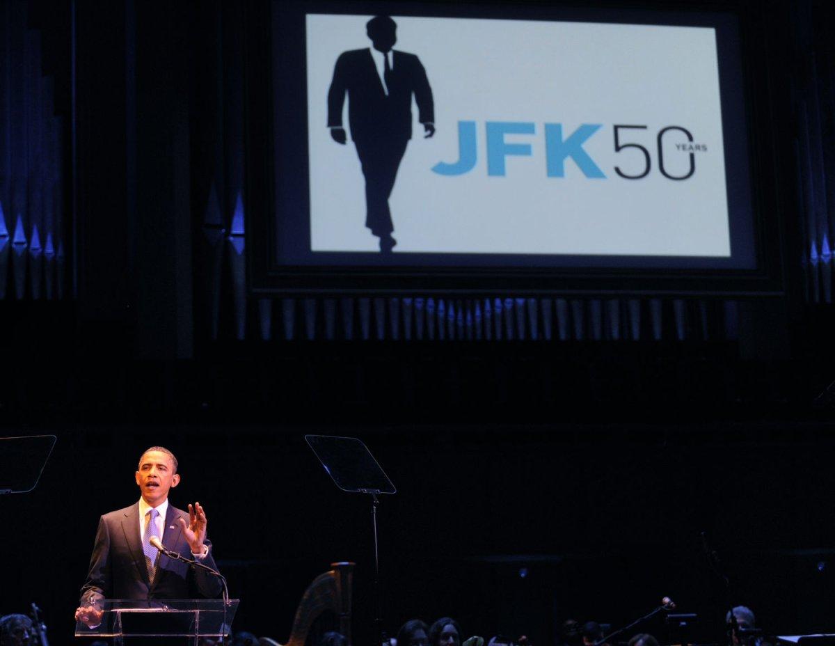 Obama: JFK inaugural still 'feels new' - UPI.com
