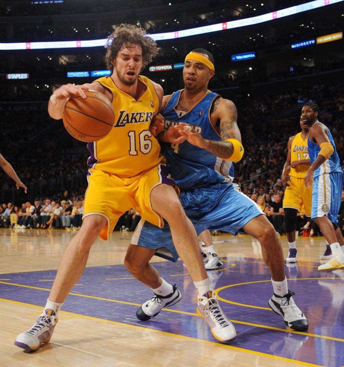 NBA: Denver 106, LA Lakers 103