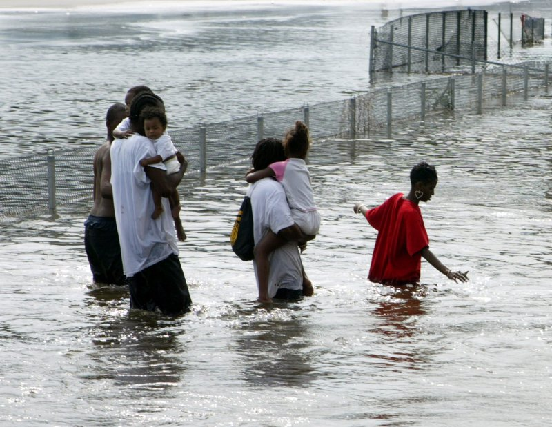 hurricane katrina was a man made and natural disaster essay The flooding of new orleans during hurricane katrina was a human-made disaster, not a natural one the flood-protection system for the city had been poorly designed and maintained.