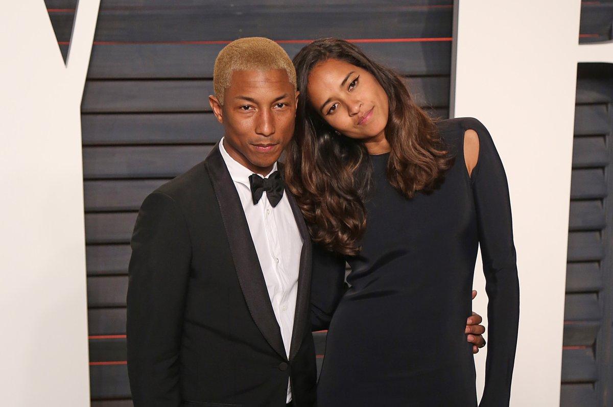 Pharrell Williams Wife Helen Lasichanh Welcome Triplets