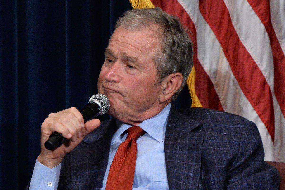 Watch President George W Bush Videobombs Texas Rangers