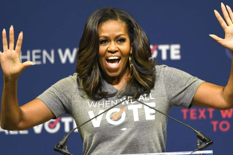Look Michelle Obama Posts Grammys Texts From Mother I Am A Real Star - Upicom-1879