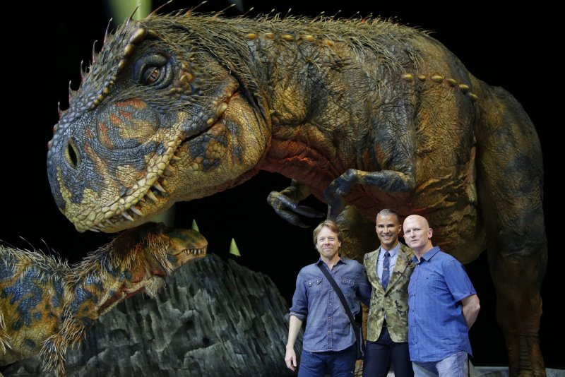 New Blood - broadcast in North America as Dawn of the Dinosaurs - is the first episode of Walking with Dinosaurs thus being the first episode in the Walking With series. This episode follows life in the late Triassic period in Arizona. It features Coelophysis, one of the first in the lineage Previous episode Walking with Dinosaurs pilot: Following episode, The Making of Walking with Dinosaurs.