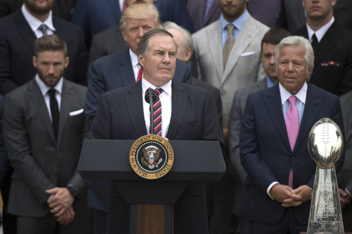 9ce2aacfc Watch  New England Patriots visit White House - UPI.com