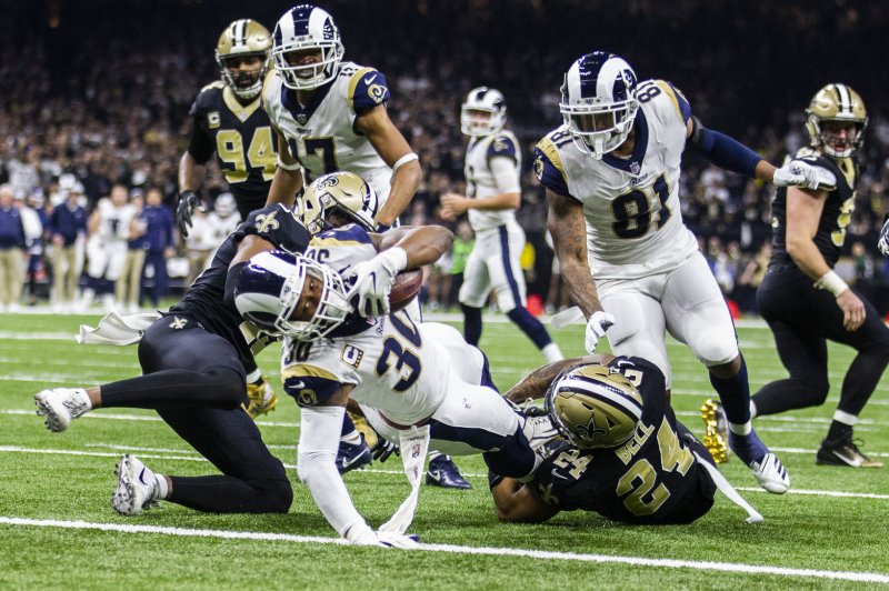 Los Angeles Rams Silence Saints Advance To Super Bowl