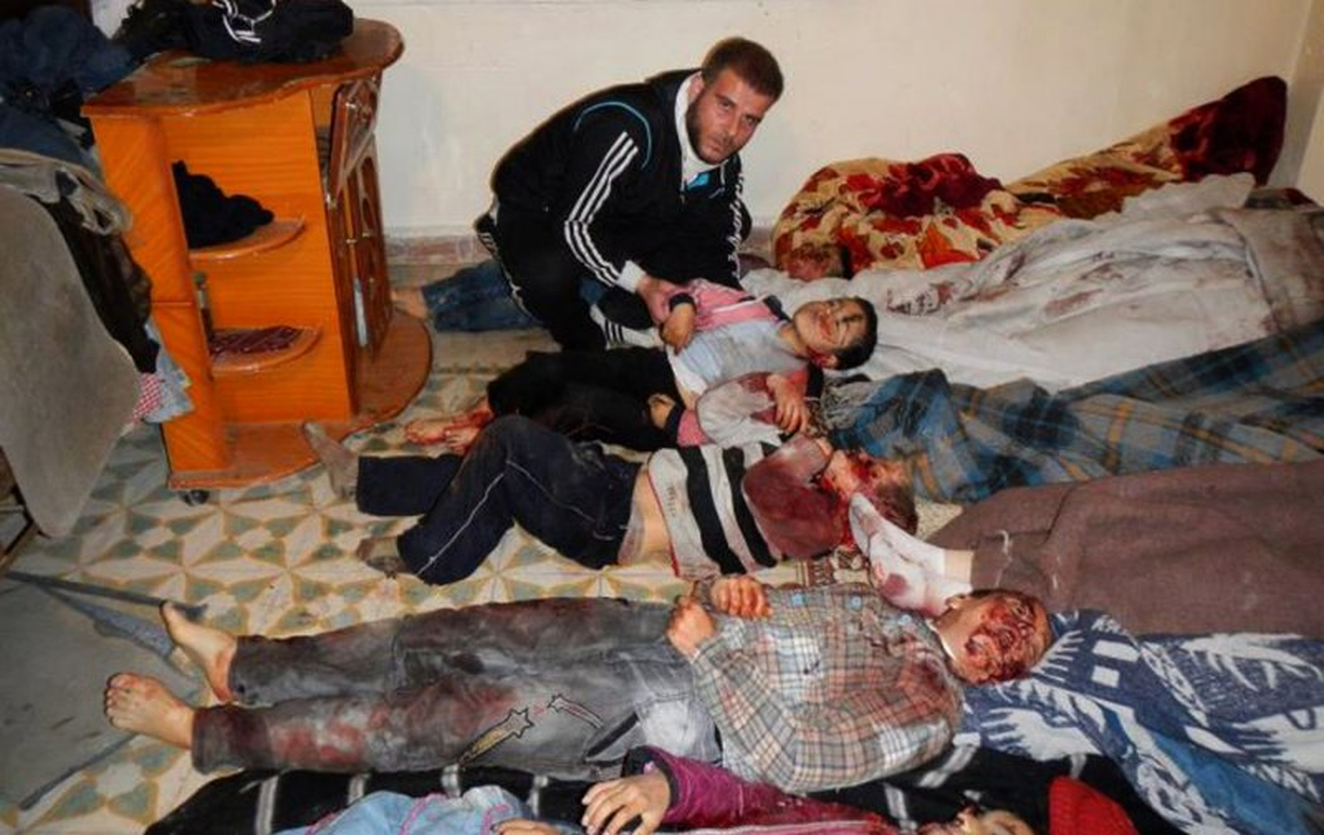 At Least 45 Said Killed In Homs Massacre Upi Com