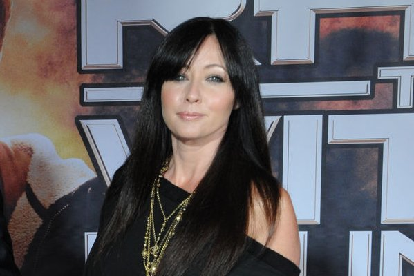 Shannen Doherty Walks Red Carpet After Finishing Chemo I