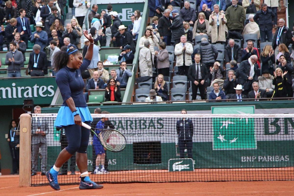 French Open: Serena Williams moves into final - UPI.com