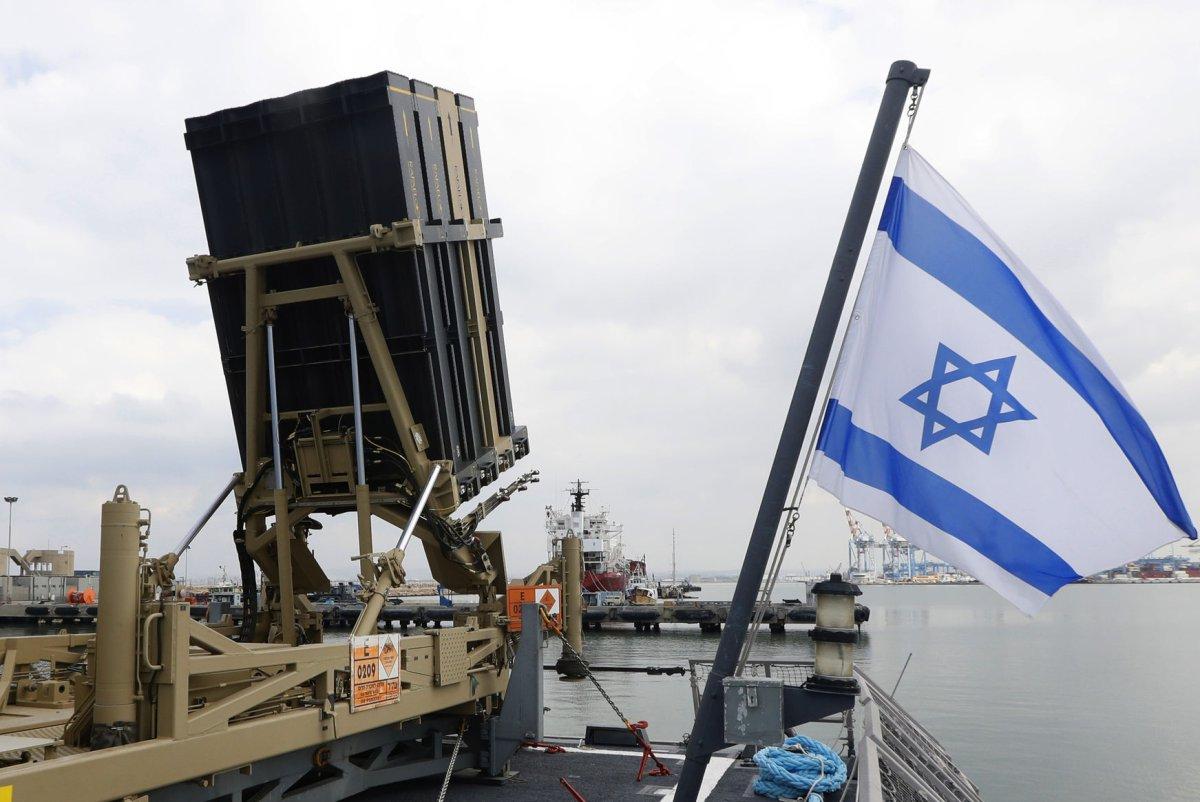 Israel conducts air raid in Gaza Strip after intercepting rocket fire