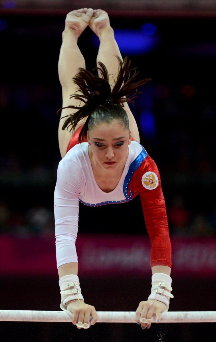 Mustafina wins gold at Gymnastics World Cup - British