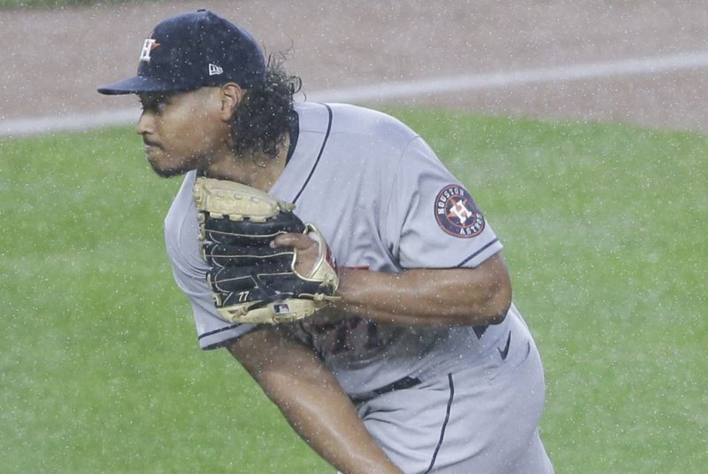 Giancarlo Stanton powers Yankees past Astros.