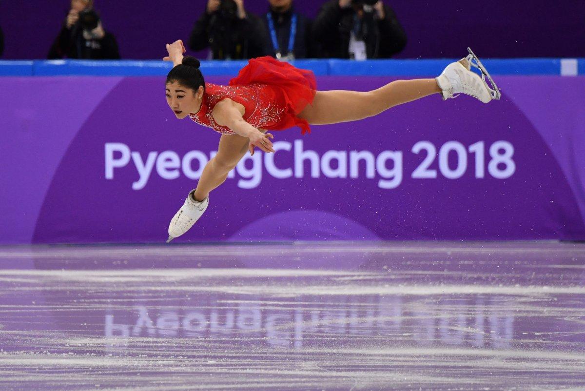 Watch: Team USA's Nagasu lands historic triple axel - UPI.com