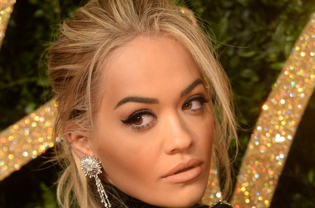 Rita Ora Films Fifty Shades Darker With Dakota Johnson