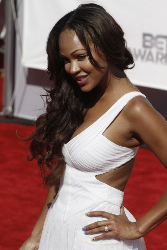 Meagan Good says skin is lighter because she's stayed out