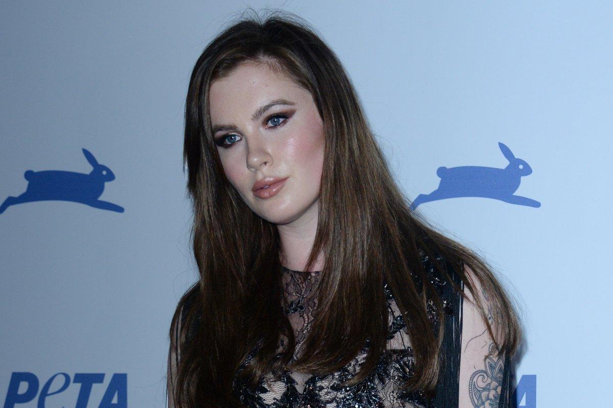 Look: Ireland Baldwin goes naked for PETA campaign - UPI.com