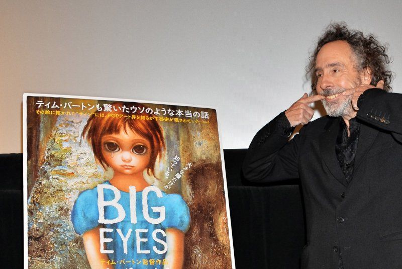 Exhibition Plan D : Margaret keane says she told big eyes truth on spur of