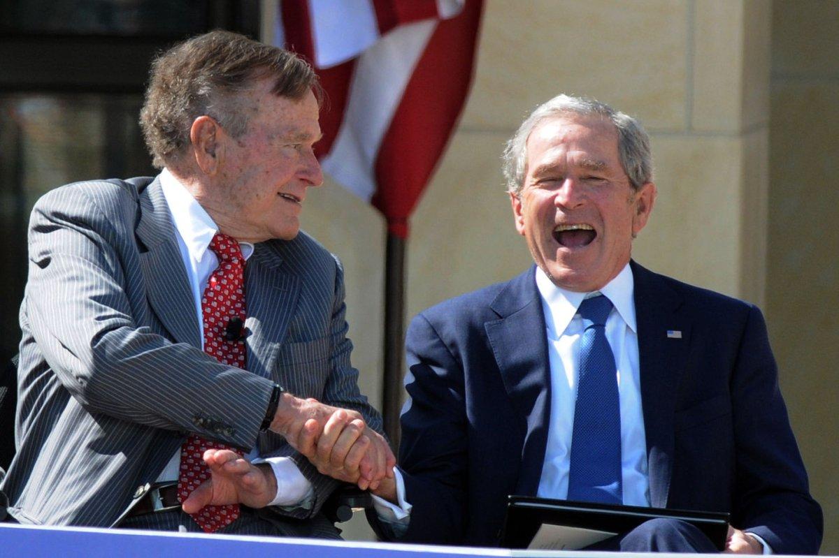 Bush 43 S Biography Of Bush 41 To Hit Stores In November