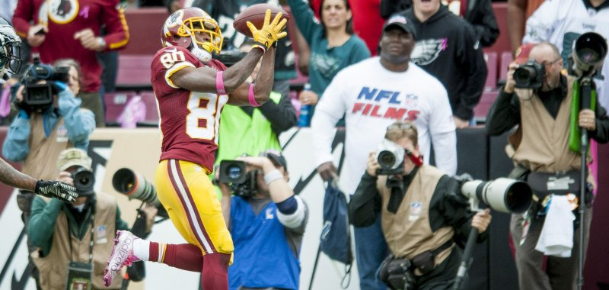 Cheap NFL Jerseys Wholesale - Washington Redskins: Jamison Crowder moves up as slot receiver ...