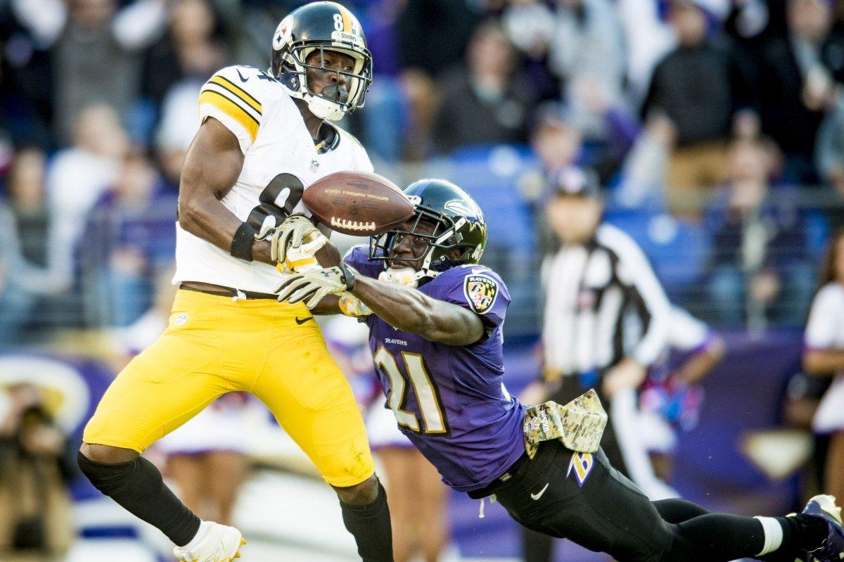 Pittsburgh Steelers' Le'Veon Bell, Ben Roethlisberger ...