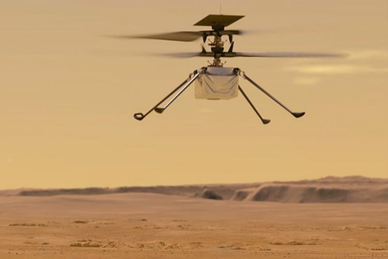 NASA: Mars helicopter Ingenuity successfully completes 14th flight - UPI News