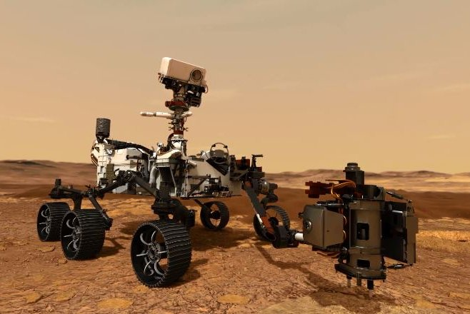 NASA Mars rover Perseverance hits 'bullseye' for Thursday ...