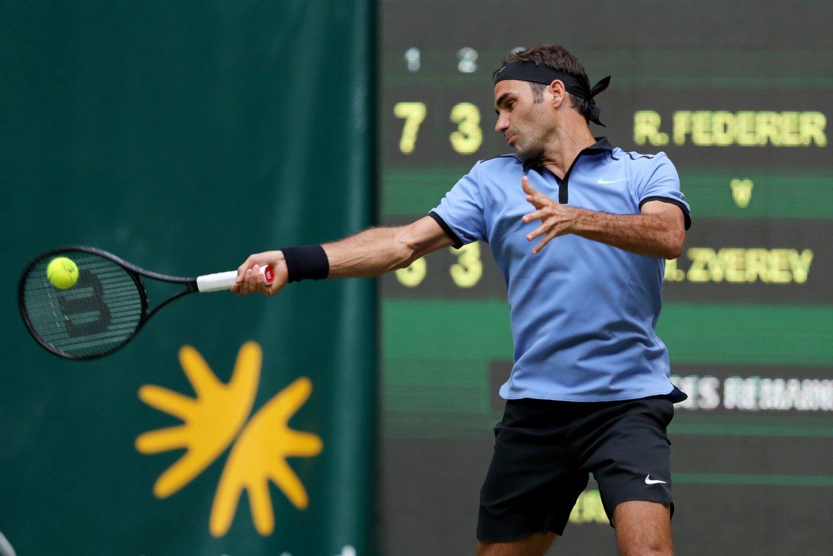 Roger Federer advances to 11th Halle final - UPI.com