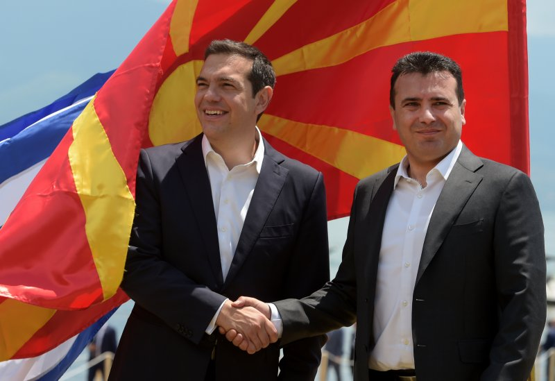 Macedonia signs name change deal with Greece
