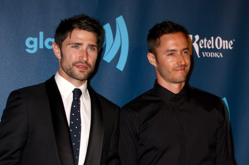 Matt Dallas Husband Blue Hamilton Welcome First Child