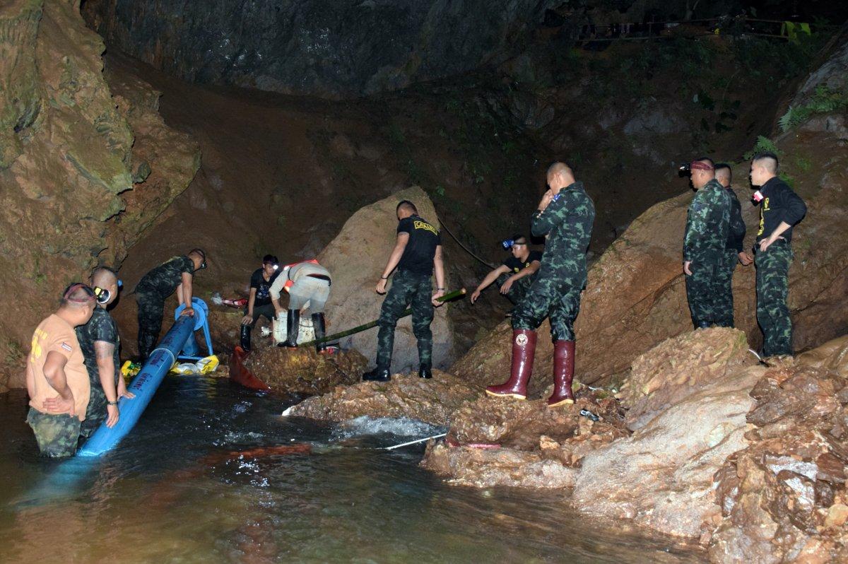 Teen soccer team, coach found alive in Thailand cave - UPI.com